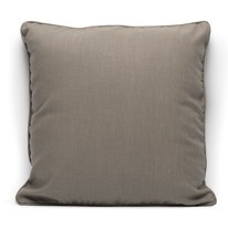 Cuscino grande Ramie tortora 50 x 50 cm