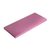 Mensola Spaceo rosa L 56 x P 20, sp 1,8 cm