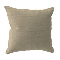 Cuscino 10% lino naturale 60 x 60 cm