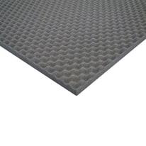Pannello fonoassorbente bugnato in poliuretano L 1 m x H 1 m, spessore 30 mm