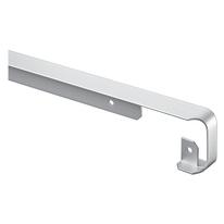 Profilo di giunzione alluminio grigio spazzolato L 67 cm