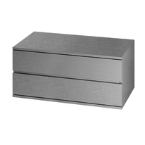 Cassettiera Logo grigio L 90 x P 50 x H 42,8 cm