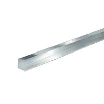 Profilo angolare a L in alluminio, L 20 x H 20 x S 1 mm x P 1 m