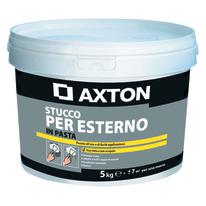 Stucco in pasta Axton  per esterno liscio bianco 5 kg
