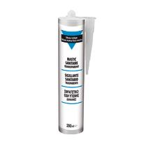 Silicone  per sanitari bianco 280 ml