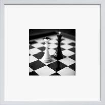 Stampa incorniciata Scacchi 30 x 30 cm