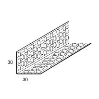 Paraspigolo forato 30 x 30 mm, L 3 m