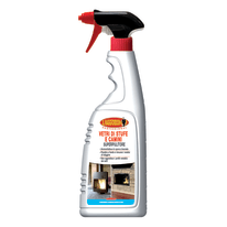 Pulitore spray Maggiordomo per vetri di stufe e camini 750 ml