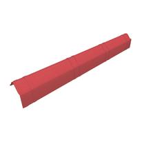 Scossalina Onduline Onduvilla in fibrobitume color rosso, L 104 cm
