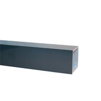 Traversa orizzontale in alluminio 400 x 5  cm, spessore 2 mm