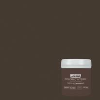 Tester idropittura murale Mano unica Marrone Cioccolato 1 Luxens