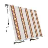 Tenda da sole a caduta con bracci 245 x 245 cm beige