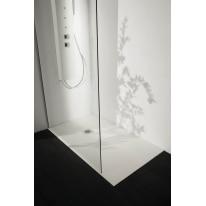 Piatto doccia resina Liso 100 x 80 cm bianco