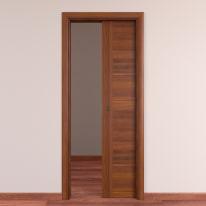 Porta da interno scorrevole Tower 80 x H 210 cm reversibile