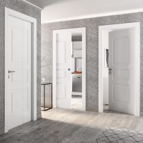 Porta da interno battente Alioth bianco 80 x H 210 cm dx