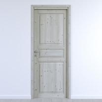 Porta da interno battente Beethoven grey charme 70 x H 210 cm reversibile