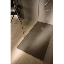Piatto doccia resina Elements 80 x 70 cm terra