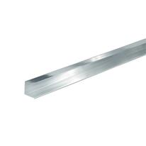 Profilo angolare a L in alluminio, L 30 x H 30 x S 1 mm x P 2 m