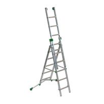Scala sfilo alluminio Facal 5+6+6 gradini, per lavori fino a 5,1 m
