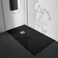 Piatto doccia acrilico Boston 160 x 70 cm nero