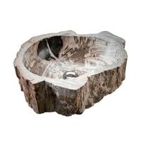 Lavabo da appoggio irregolare Stone Tree ø 40 x 15 cm