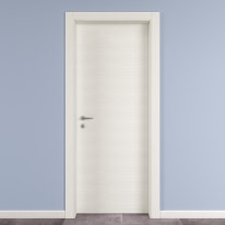 Porta da interno battente Star Bianco Matrix 90 x H 210 cm reversibile