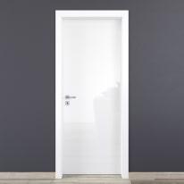Porta da interno battente Bright 90 x H 210 cm reversibile
