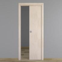 Porta da interno scorrevole Notting Hill pino sbiancato 90 x H 210 cm reversibile