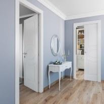 Porta da interno battente Street bianco 80 x H 210 cm dx