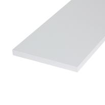 Pannello melaminico bianco 18 x 300 x 1200 mm