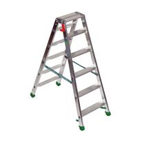 Scala doppia alluminio Facal 6 gradini, per lavori fino a 2,3 m