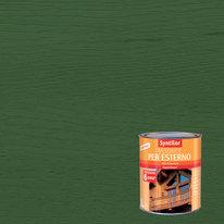 Vernice per esterno ad acqua Syntilor verde brillante 1 L