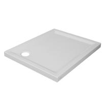 Piatto doccia acrilico Houston 80 x 100 cm bianco