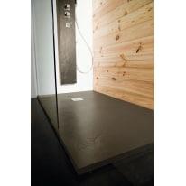 Piatto doccia resina Pizarra 160 x 70 cm marrone