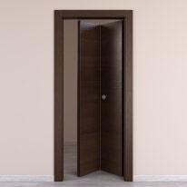 Porta da interno pieghevole Timber Fumo 80 x H 210 cm dx
