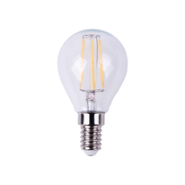 Lampadina LED Lexman Filamento E14 =40W sfera luce calda 360°
