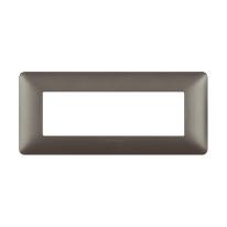Placca 6 moduli BTicino Matix iron
