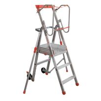 Scala doppia alluminio Facal 3 gradini, per lavori fino a 2,5 m