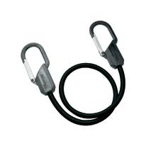 1 corda elastica con moschettoni in metallo, ganci con clip Ø 9 mm, 0,8 m