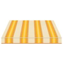 Tenda da sole a caduta cassonata Tempotest Parà 300 x 250 cm giallo/avorio/marrone Cod. 771/12