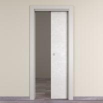 Porta da interno scorrevole Hunk luna 80 x H 210 cm reversibile