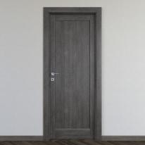 Porta da interno battente Zaniah tabacco 70 x H 210 cm dx