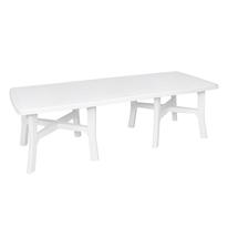 Tavolo allungabile Trio Plus, 180 x 100 cm bianco