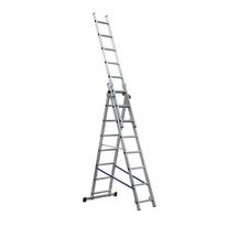 Scala sfilo alluminio Gierre 3x8 gradini, per lavori fino a 5,3 m
