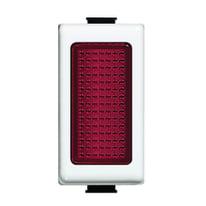 Copritasto con diffusore illuminabile BTicino rosso