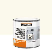 Smalto manounica Luxens all'acqua Bianco Crema 5 brillante 0.5 L