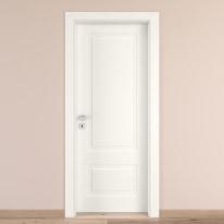 Porta da interno battente Shibuya Bianco 90 x H 210 cm dx