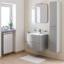 Mobile bagno Best grigio L 61 cm