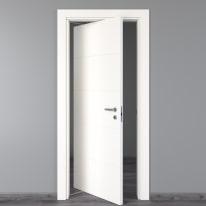 Porta da interno rototraslante Prado bianco 80 x H 210 cm sx