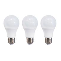 3 lampadine LED E27 =100W goccia luce calda 300°